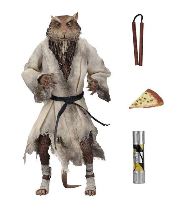 "TEENAGE MUTANT NINJA TURTLES 1990 SPLINTER 15CM ACTION FIGURE ""PRE-ORDER DEC 2020 APPROX"""
