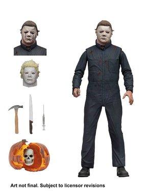 "HALLOWEEN 2 MICHAEL MYERS ULTIMATE ACTION FIGURE ""PRE ORDER DEC 2019"""