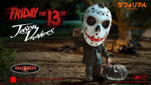 FRIDAY THE 13TH DEFO-REAL SERIES JASON VOORHEES SOFT VINYL FIGURE