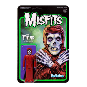 MISFITS THE FIEND CRIMSON RED REACTION ACTION FIGURE