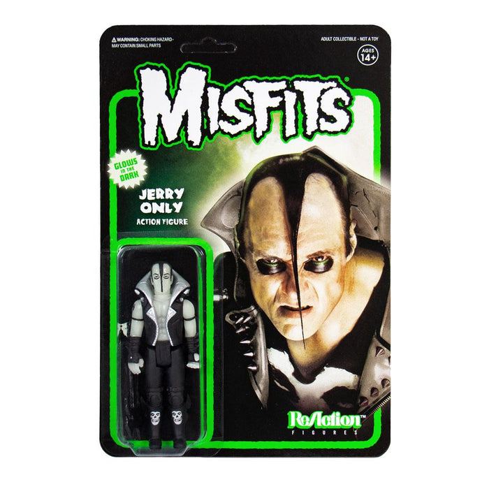 MISFITS JERRY ONLY GLOW IN THE DARK REACTION ACTION FIGURE