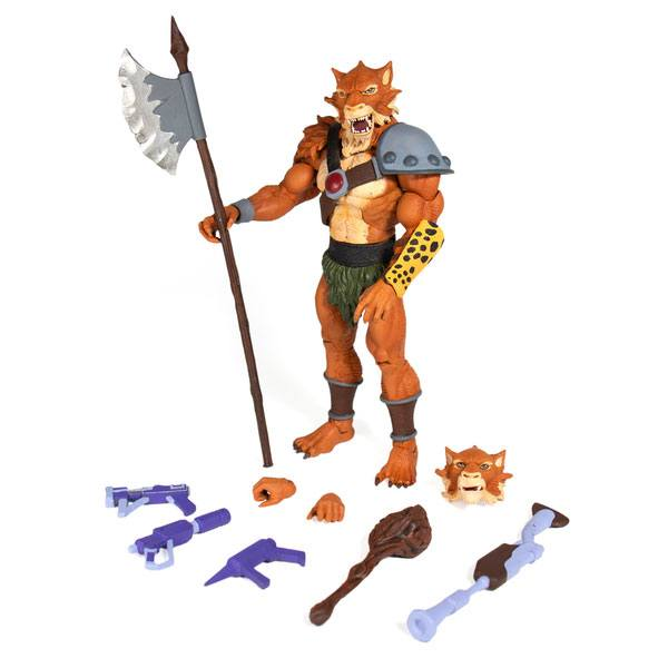 "THUNDERCATS JACKALMAN ULTIMATES 18CM ACTION FIGURE ""PRE ORDER Q2 2020"""