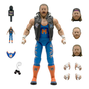 "MAJOR WRESTLING PODCAST WAVE 1 BRIAN MYERS 18CM ACTION FIGURE ""PRE-ORDER Q3 2021 APPROX"""