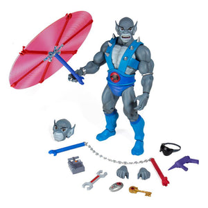 "THUNDERCATS ULTIMATES PANTHRO WAVE 1 REISSUE 18CM ACTION FIGURE ""PRE-ORDER NOV 2021 APPROX"""