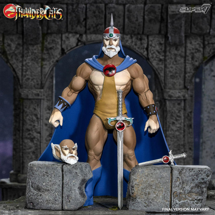 "THUNDERCATS ULTIMATES WAVE 3 JAGA THE WISE 18CM ACTION FIGURE ""PRE-ORDER Q3 2021 APPROX"""