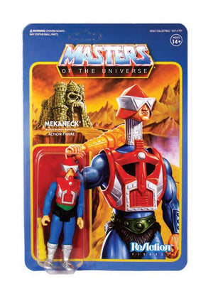 MASTERS OF THE UNIVERSE MEKANECK RACTION ACTION FIGURE