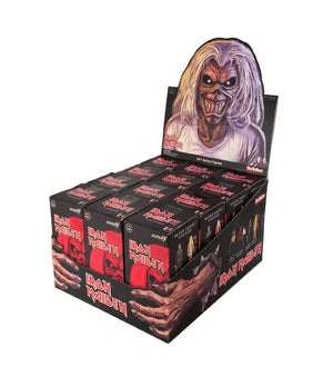 "IRON MAIDEN REACTION FIGURE BLIND BOX (1 FIGURE PER ORDER) ""PRE ORDER AUG/SEP 2019"""