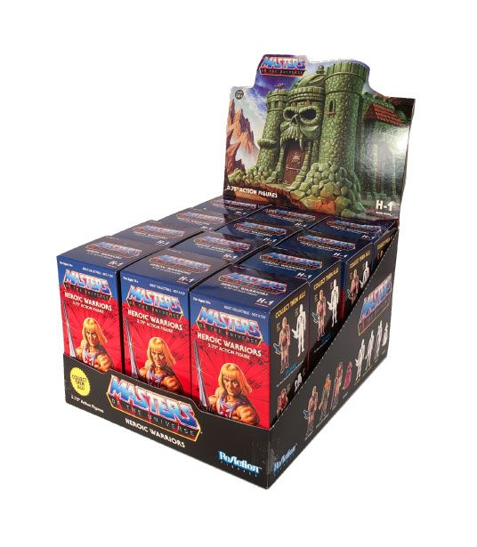REACTION MASTERS OF THE UNIVERSE CASTLE GREYSKULL BLIND BOX ACTION FIGURE