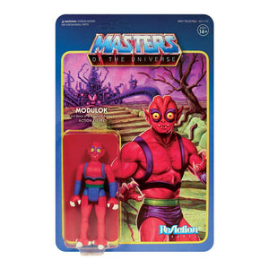 MASTERS OF THE UNIVERSE REACTION 3.75 INCH ACTION FIGURE WAVE 5 FULL SET OF 7