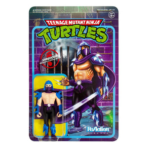 TEENAGE MUTANT NINJA TURTLES SHREDDER 10CM REACTION ACTION