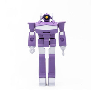 TRANSFORMERS WAVE 2 SHOCKWAVE 10CM REACTION FIGURE