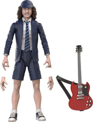 "AC/DC BST AXN ANGUS YOUNG 13CM ACTION FIGURE ""PRE-ORDER JAN 21 APPROX"""