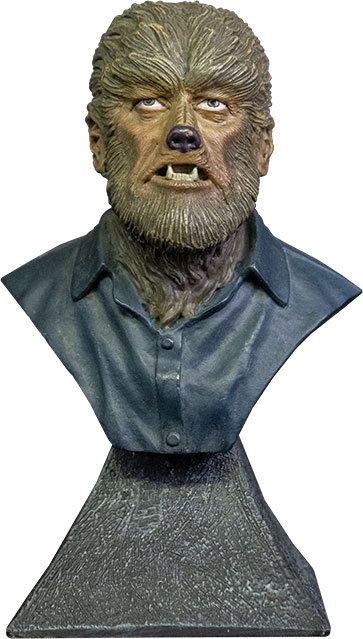 UNIVERSAL MONSTERS WOLF MAN 15CM MINI BUST