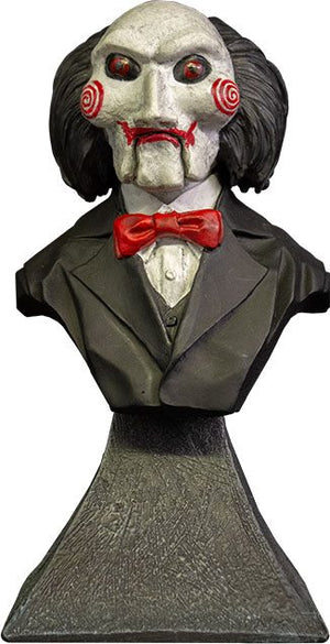 SAW BILLY PUPPET 15CM MINI BUST TRICK OR TREAT STUDIOS
