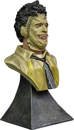 THE TEXAS CHAINSAW MASSACRE LEATHERFACE 15CM MINI BUST