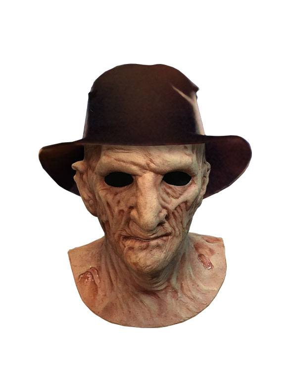 "A NIGHTMARE ON ELM STREET 2: FREDDY'S REVENGE -DELUXE FREDDY MASK WITH HAT ""PRE ORDER Q1 2020"""
