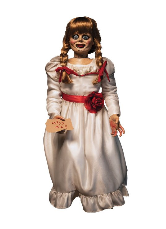 """THE CONJURING PROP REPLICA 1/1 SCALE ANNABELLE DOLL """"PRE"""