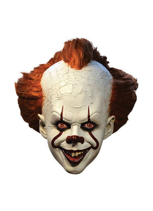 "IT 2017 PENNYWISE DELUXE EDITION MASK ""PRE ORDER SHIPS 22nd MAY 2020"""