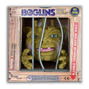 "BOGLINS KING DWORK HAND PUPPET ""PRE-ORDER MAY 2021 APPROX"""