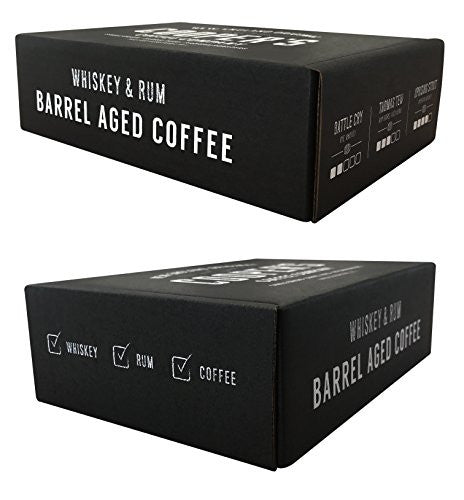 Whiskey & Rum Barrel Aged Coffee - Whole Bean - Box Set