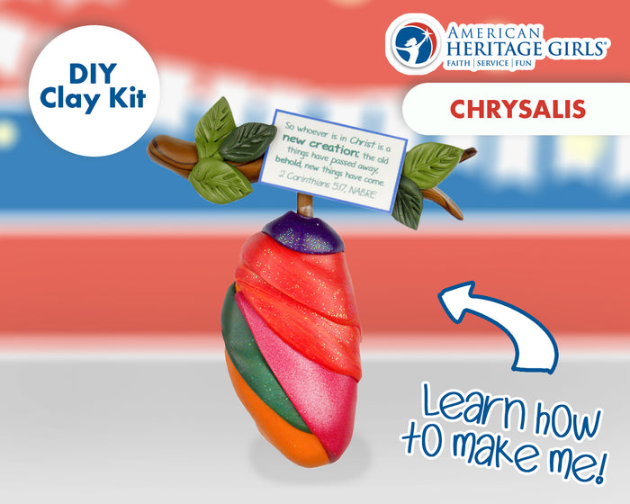 American Heritage Girls - Chrysalis DIY Clay Kit