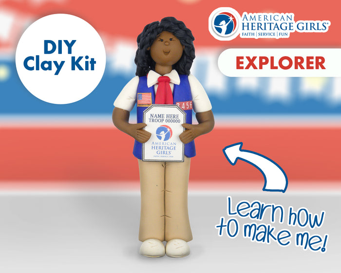 American Heritage Girls - Explorer DIY Clay Kit