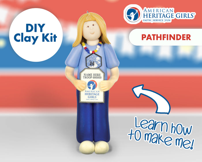 American Heritage Girls - Pathfinder DIY Clay Kit