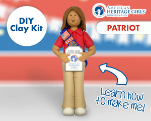 American Heritage Girls - Patriot DIY Clay Kit