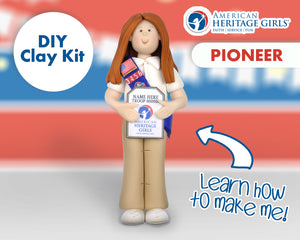 American Heritage Girls - Pioneer DIY Clay Kit