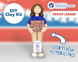 American Heritage Girls - Troop Leader DIY Clay Kit