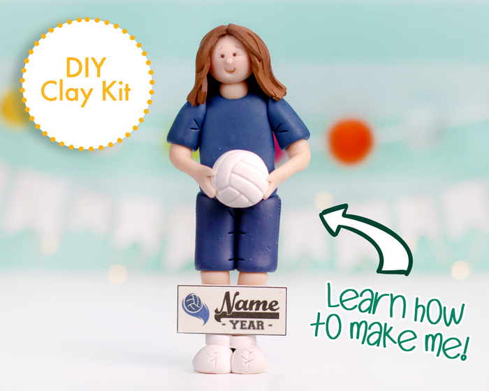 Volleyball Player Ornament/Figurine