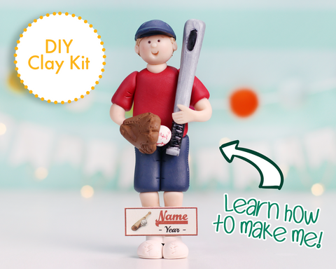 Baseball Player Ornament/Figurine