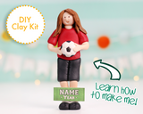 Soccer Player Ornament/Figurine