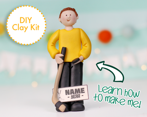 Hockey Player Ornament/Figurine