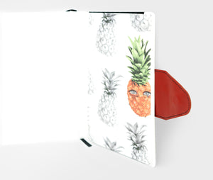 Journal A5 with Pocket Pineapple Art Hold Loose Items