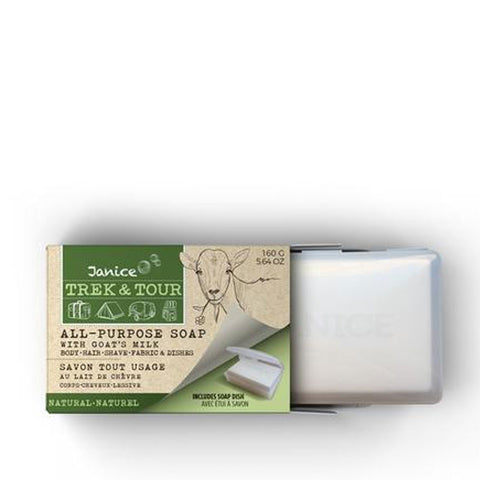 trek and tour bar soap