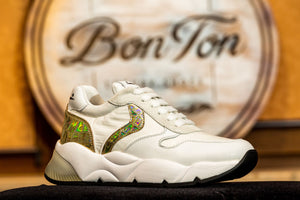 Sneakers Dama Voile Blanche.