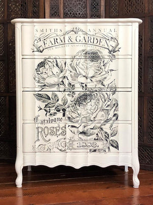 IOD  Catalogue of Roses Paintable Decor Transfer -