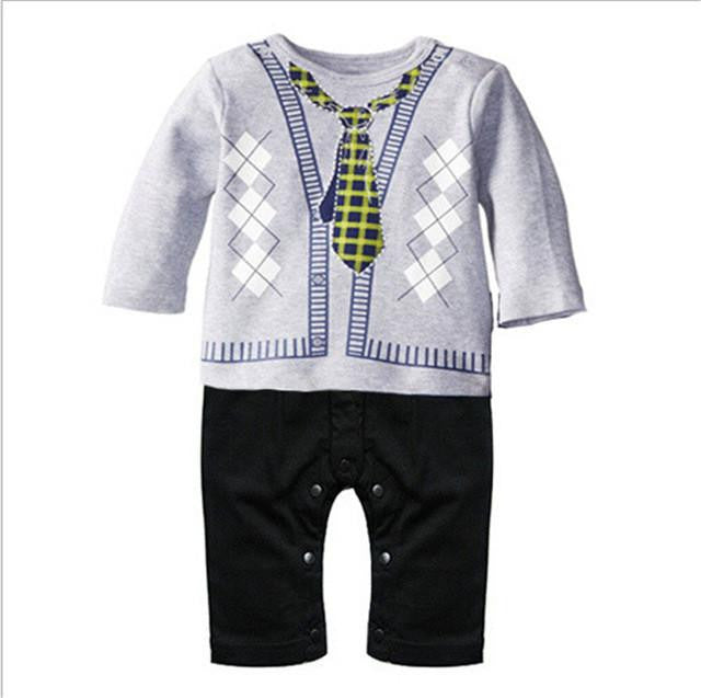 For serious babies, cute mini suits!