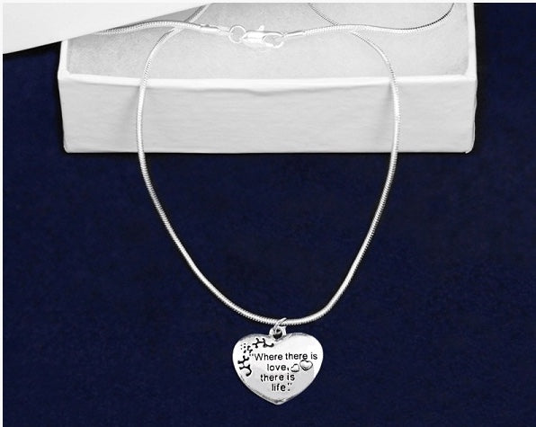 Where There Is Love Necklace