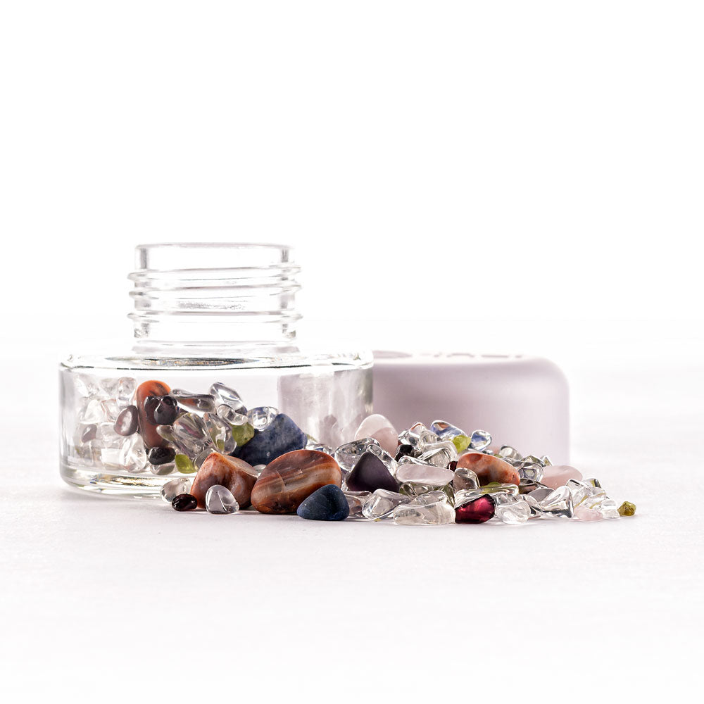 Load image into Gallery viewer, INU! Crystal Jar | 7 Chakras