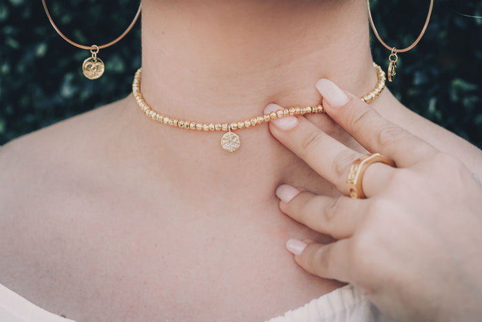 Gold Revolution Choker