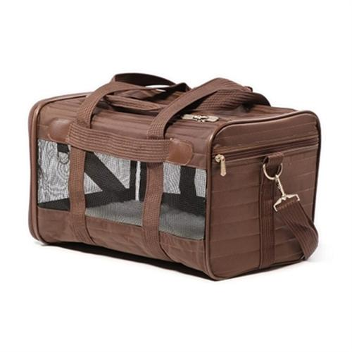 Sherpa Travel Original Deluxe Dog Carrier - Brown