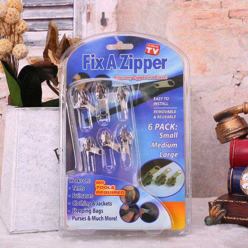 6 PIECE FIX A ZIPPER KIT