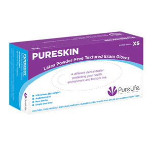 PureSkin Latex Powder-Free Gloves