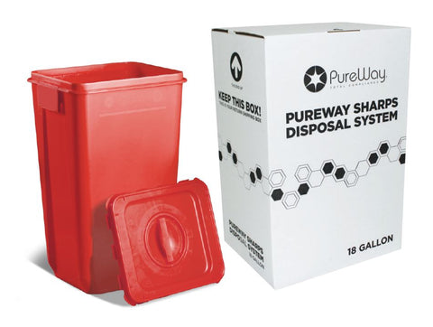 18 Gallon Sharps Disposal System