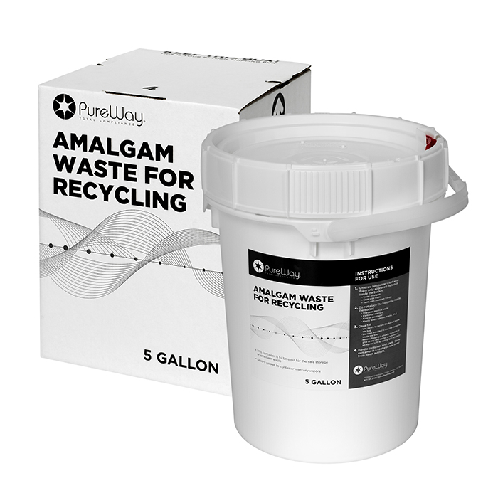 5 Gallon Amalgam Recycling System