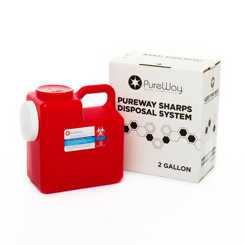 2 Gallon Sharps Container Disposal System