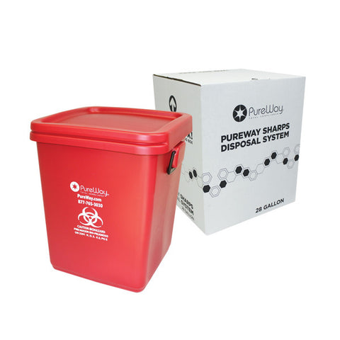 28 Gallon Sharps Disposal System