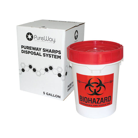5 Gallon Sharps Disposal System